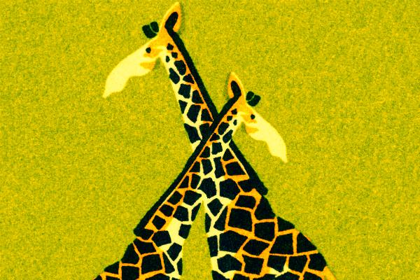 Giraffes drink their mate's urine.