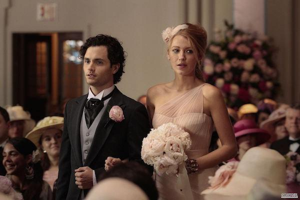 Blake Lively and Penn Badgley from Gossip Girl