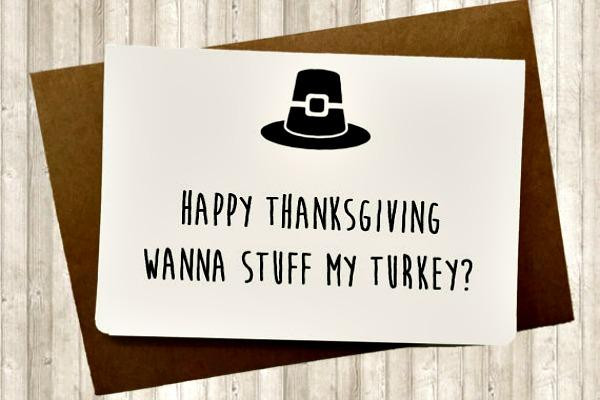 Thanksgiving card.