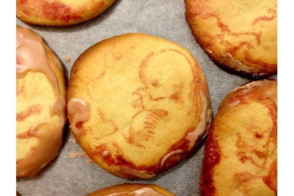 Fetus Cookies