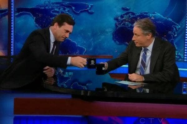 Jon Hamm from The Daily Show with Jon Stewart