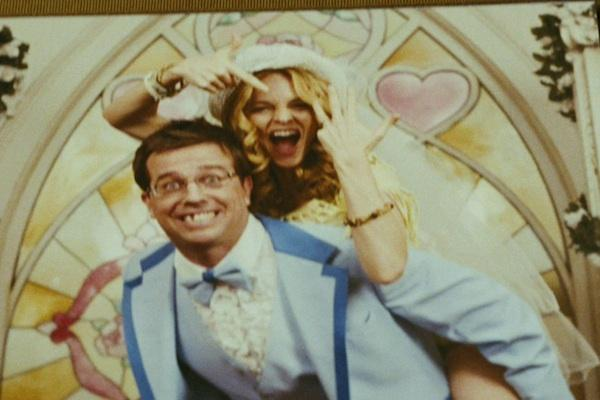 Ed Helms and Heather Graham from The Hangover