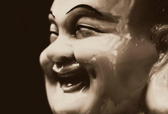 happy doll face