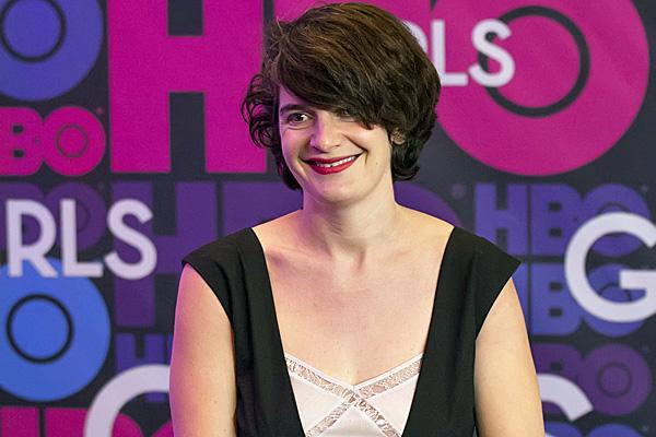 gaby hoffman at a premiere of girls hbo