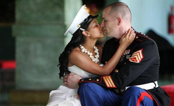 Military interracial dating