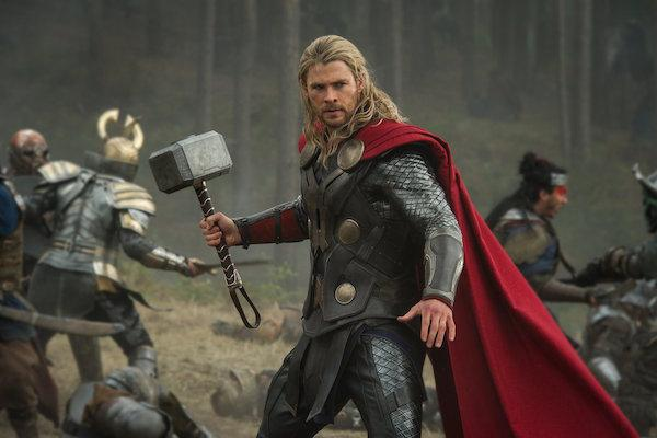 Chris Hemsworth from Thor: The Dark World