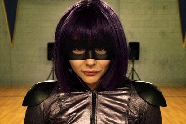 Chloe Grace Moretz as Hit Girl in 'Kick Ass 2'