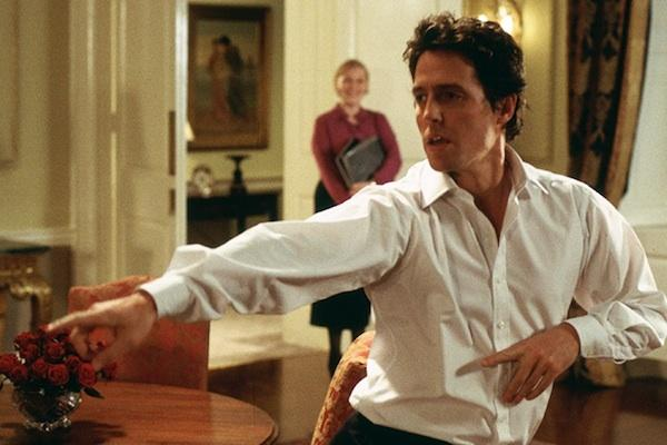 Hugh Grant from Love Actually