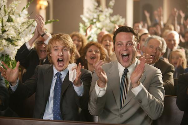 Owen Wilson and Vince Vaugn from Wedding Crashers