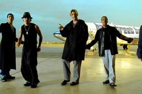 The Backstreet Boys in I Want It That Way