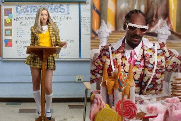 Iggy Azalea and Snoop Dogg