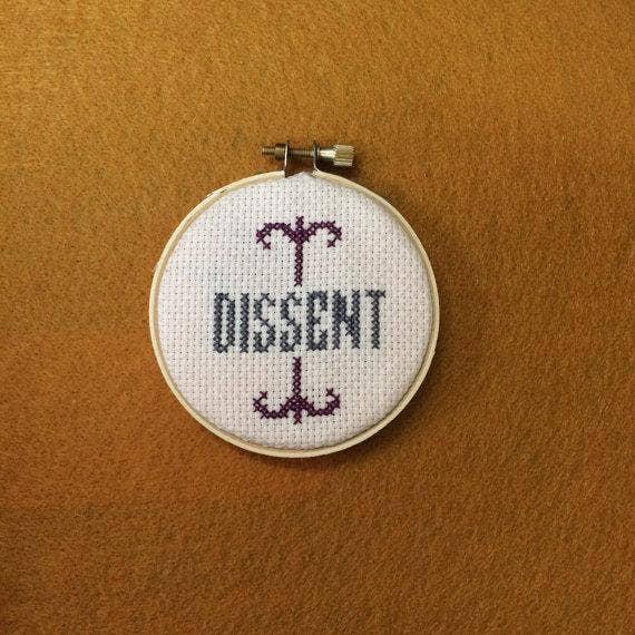vagina cross stitch