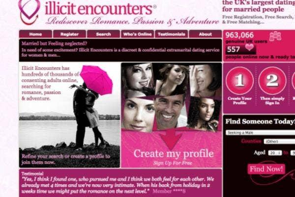 Illicit affairs dating site