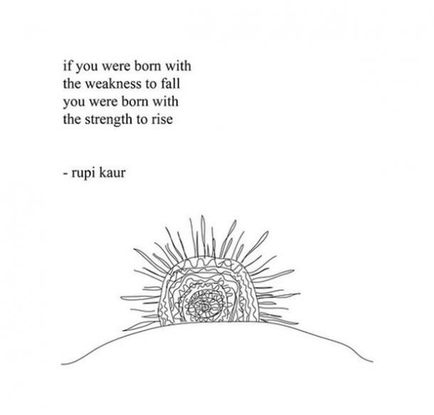 Rupi Kaur Quote Milk And Honey