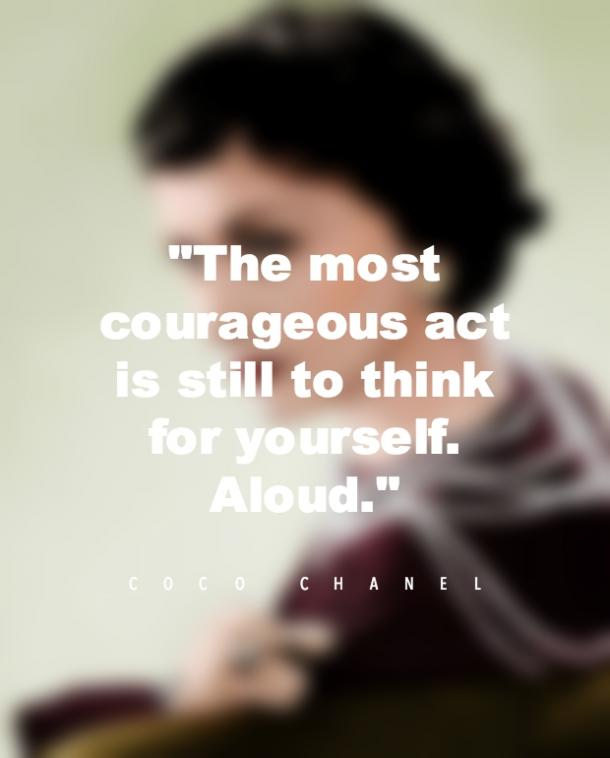 Coco Chanel Strong Women Quotes