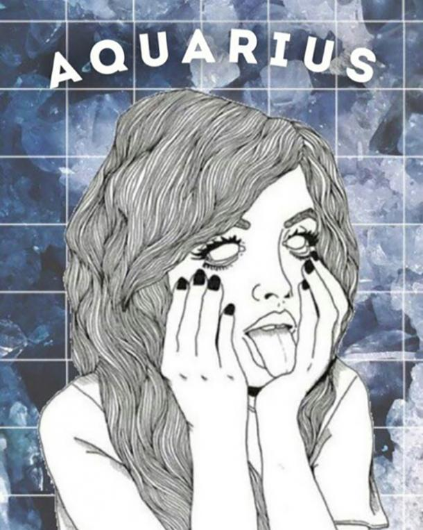 aquarius zodiac sign can't stop thinking about you