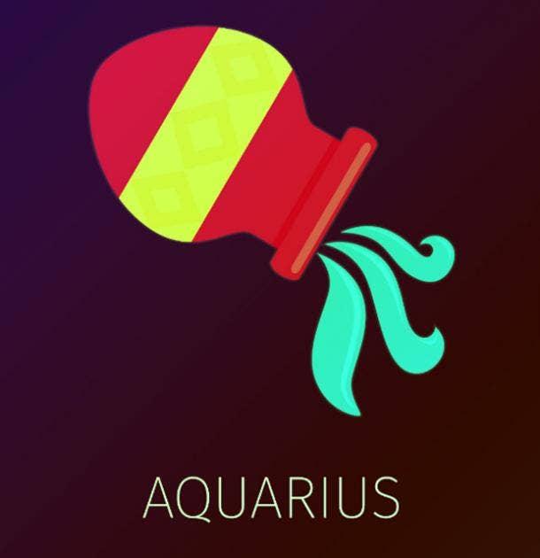 aquarius zodiac sign crush