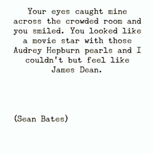 Incroyable Sean Bates Instagram Poet Love Poems Love Quotes. U201c