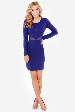 Hot Blue Dress