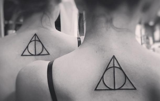 12. The Deathly Hallows Tattoos