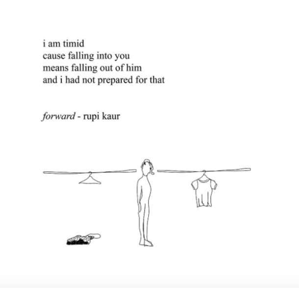 Rupi Kaur Poet Instagram Quotes Breakup Feminist