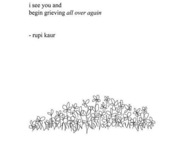 rupi kaur quotes on heartbreak