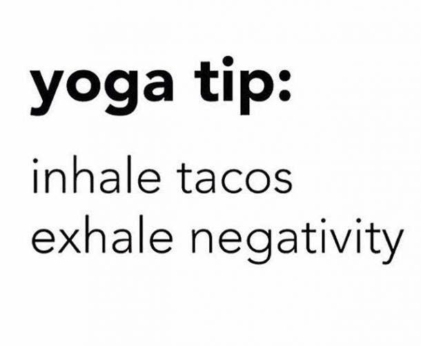 taco yoga