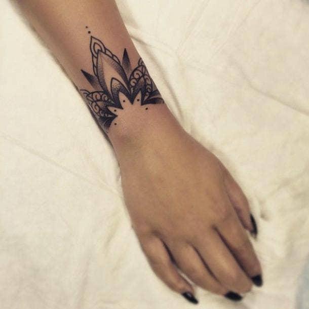 summer wrist tattoos