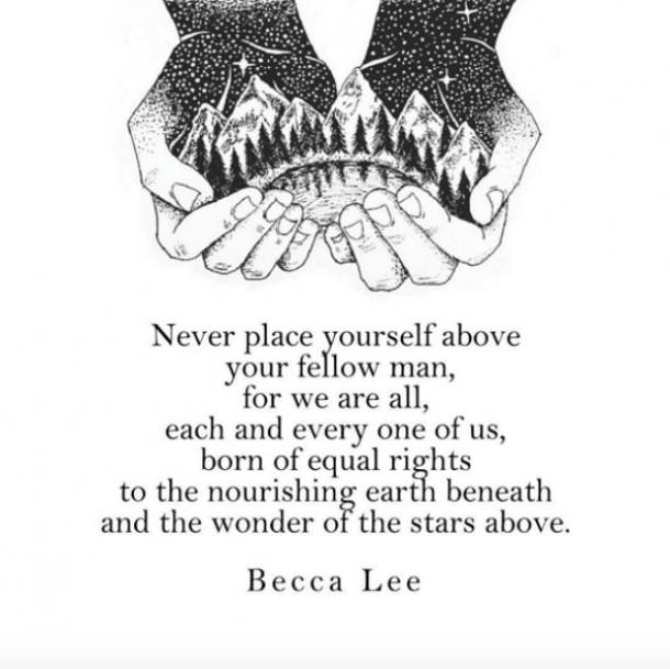 Becca Lee Instagram Quotes Self-Esteem Love Yourself
