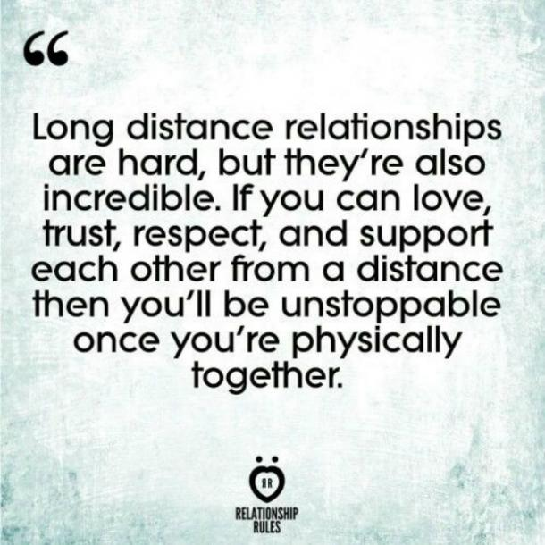 New long distance relationship