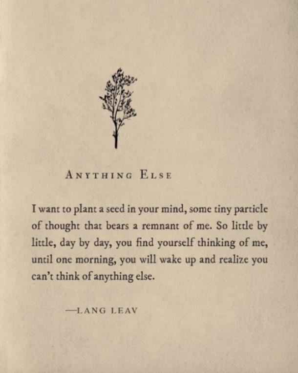 """Lang Leav Quotes 20 Lang Leav Instagram Poems That Redefine The Word """"love""""  Yourtango"""