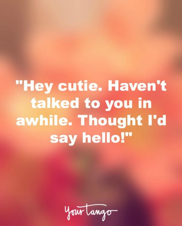 saying hello to a friend quotes
