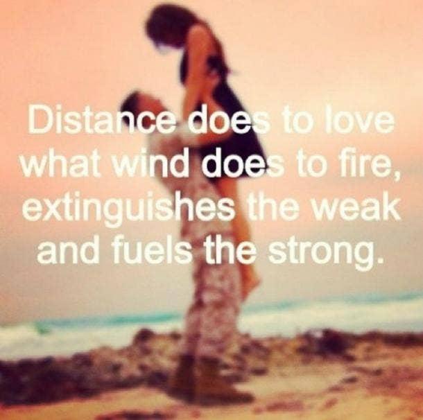 Long Distance Relationship Quotes Unique 48 Long Distance Relationship Quotes To Keep You Positive YourTango