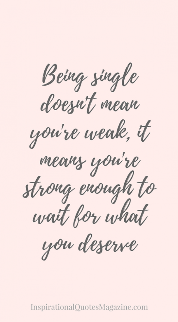 Quotes For Single Women