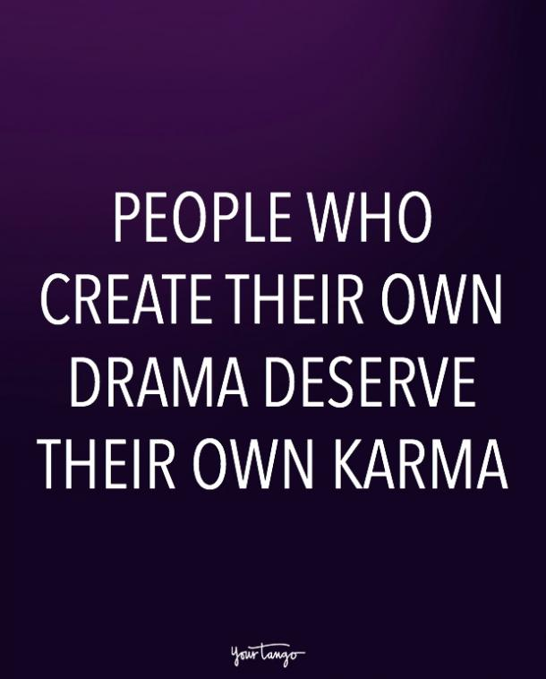 karma quotes about revenge