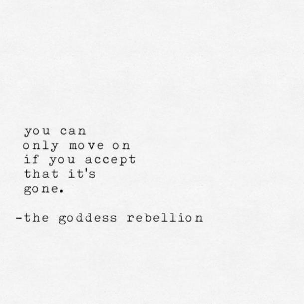 To move on quotes