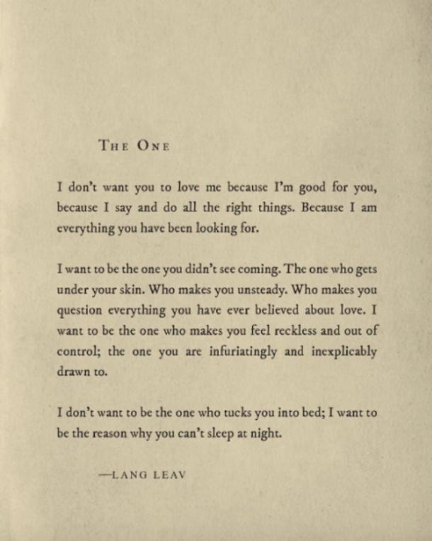 20 Lang Leav Instagram Poems That Redefine The Word Love Yourtango
