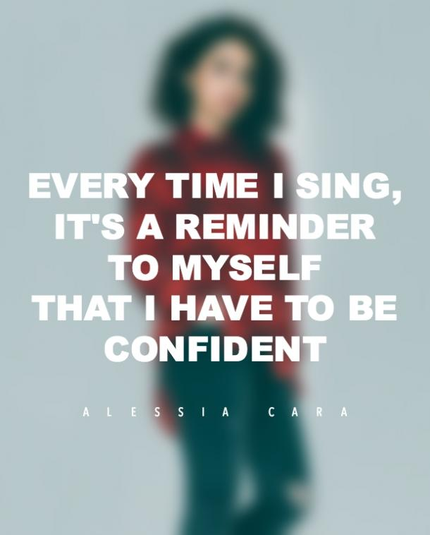 Alessia Cara Quotes No Makeup Confidence