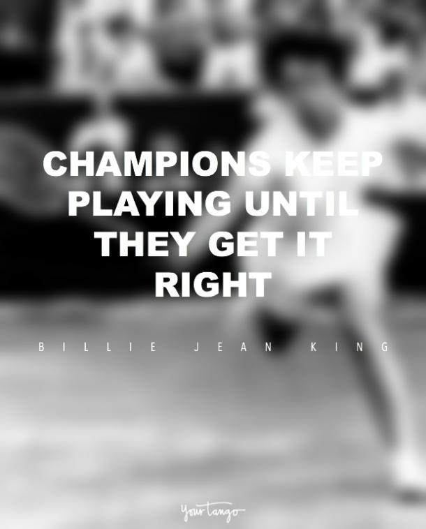 Billie Jean King quotes