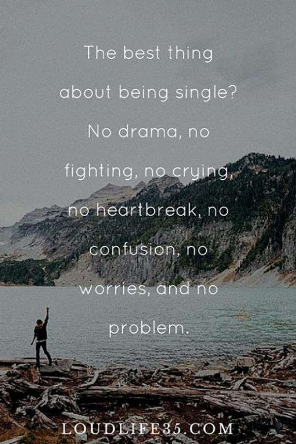 Empowering Being Single Quotes