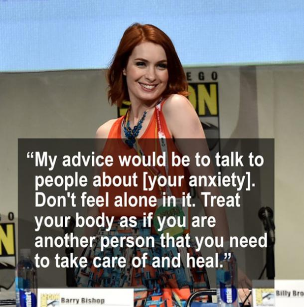 Celebrity Quotes, Mental Health