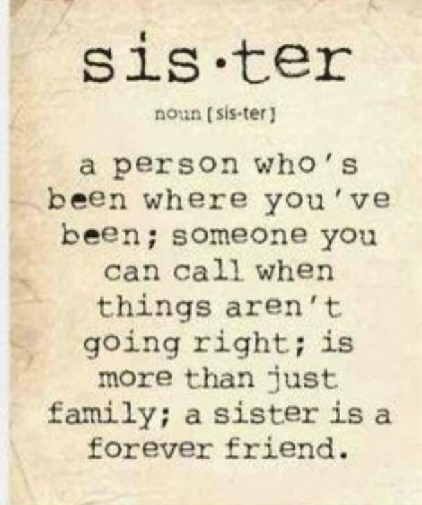 thank you sister quotes