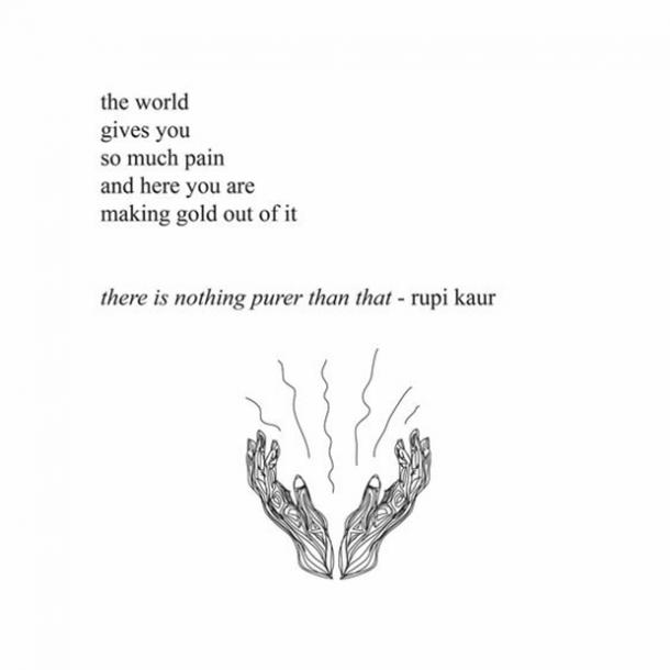 poems about being strong after a death
