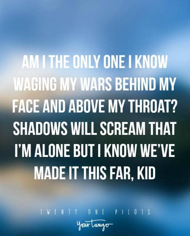 twenty one pilots lyrics migraine