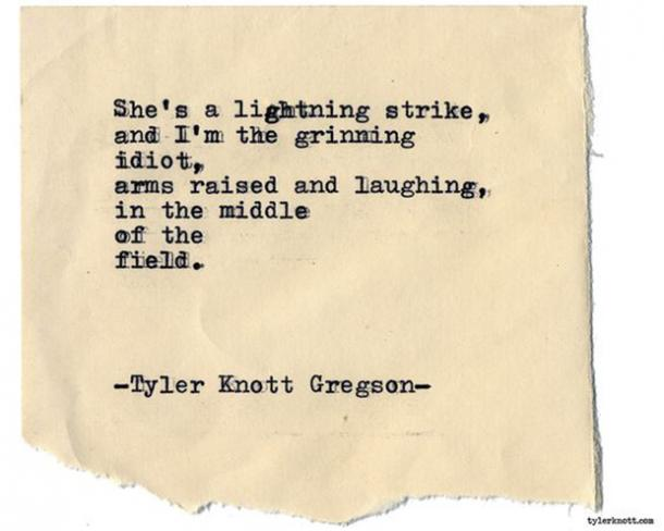 30 Love Poems By Tyler Knott Gregson Are SUPER Inspiring | YourTango