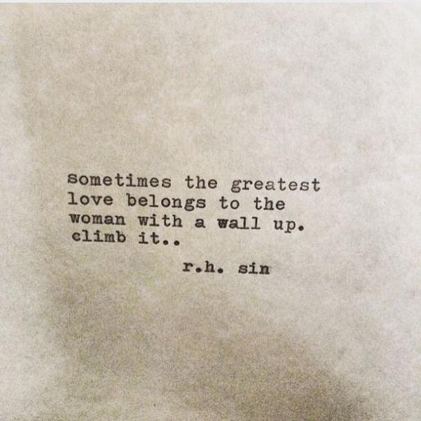 Inspirational Quotes R.H. Sin