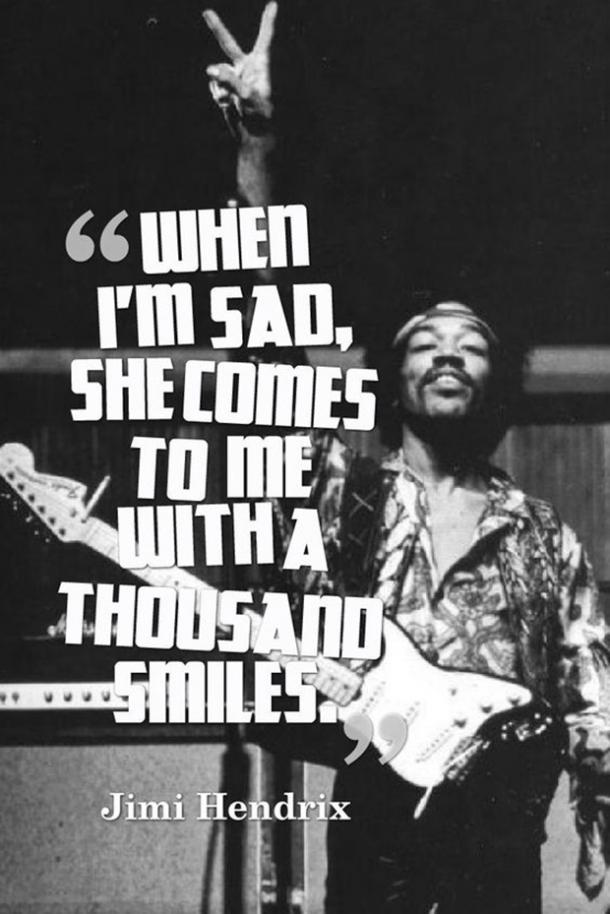 16 Jimi Hendrix Quotes Remind You To Live Your BEST Life ...