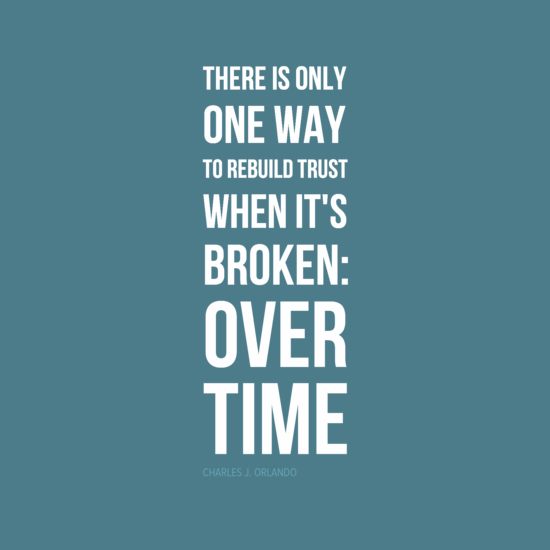 Rebuilding broken trust quotes