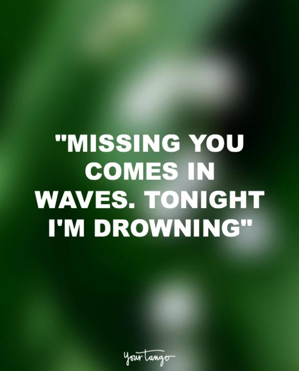 chris young missing someone quote