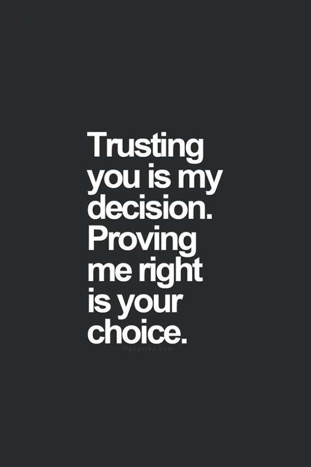 cheating quotes trust